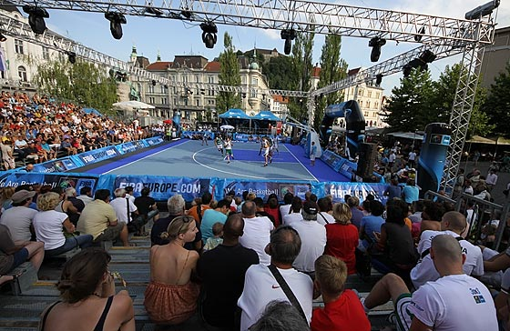 1st FIBA Europe 3on3, Ljubljana